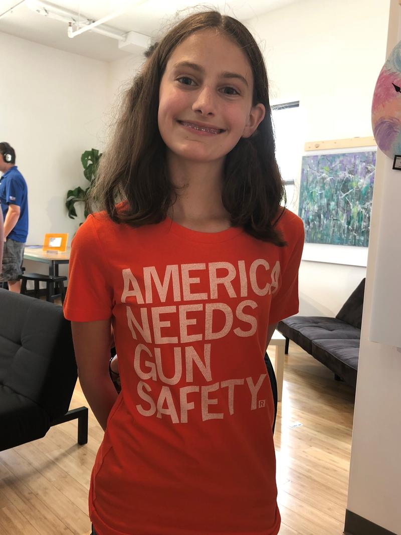 Incoming freshman Lexi Newport won't be able to vote this cycle, but says she's tracking gun control policy and LGBTQ and women's rights issues.