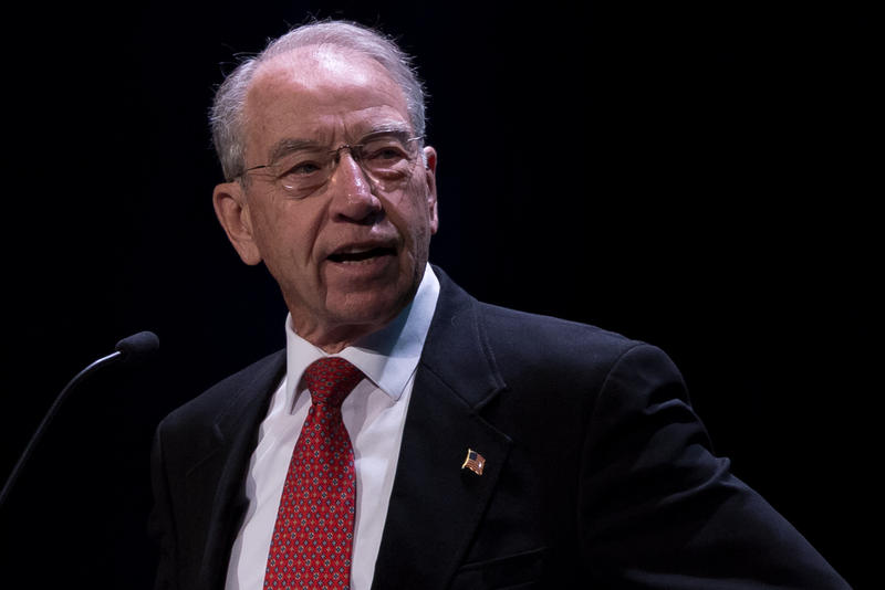 Iowa Rep. U.S. Sen. Chuck Grassley chairs the Senate Judicary Committee, which holds hearings for Supreme Court nominees.