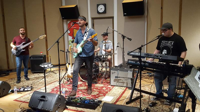 The Copper Smoke Trials performing live on IPR's Studio One Tracks.