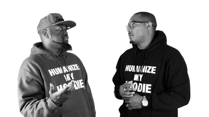 Jason Sole and Andre Wright, collaborators for the Humanize My Hoodie campaign.