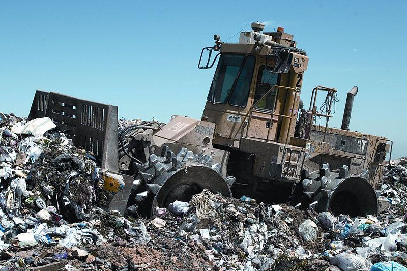 An example of a landfill. Not the one in Dickinson County.