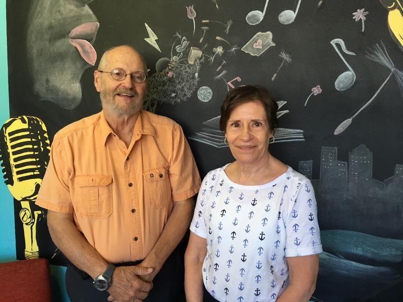"Gene Zdrazil and Loni Parrott speak about ""near-death experiences."""