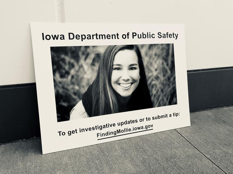 Hundreds of mourners filled the high school gym in the hometown of Mollie Tibbetts to honor her life at a funeral mass.