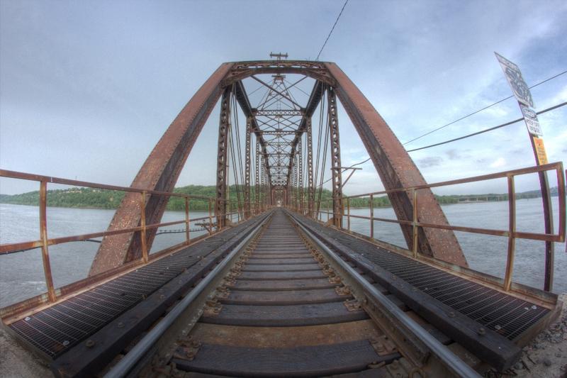 Mississippi River Railroad Bridge, Dubuque,Iowa