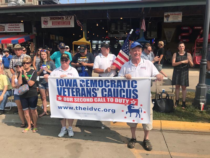 Democratic Veterans Group at the Iowa State Fair
