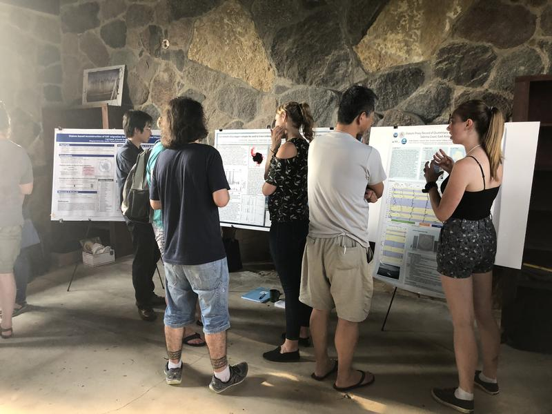 Scientists shared their research proposals and findings on polar marine diatoms at the Iowa Lakeside Lab.