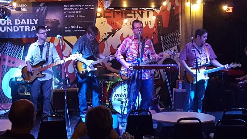Monday Mourners perform on IPR's Studio One Underground, live from the Des Moines Social Club.