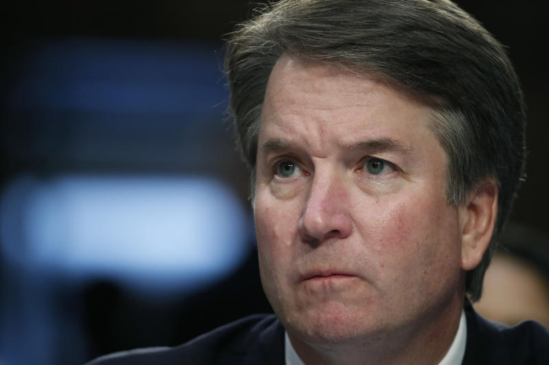 President Donald Trump's Supreme Court nominee, Brett Kavanaugh testifies before the Senate Judiciary Committee on Capitol Hill in Washington, Thursday, Sept. 6, 2018, for the third day of his confirmation hearing to replace retired Justice Kennedy.