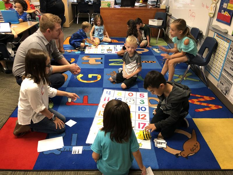 Students at Loess Hills Elementary are learning everything from the basics of coding through activities and games to using actual coding programs like Kodable and Tinker.