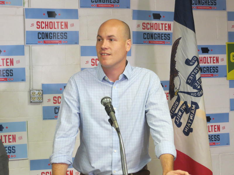 J. D. Scholten, Democratic candidate for Congress in Iowa's 4th District
