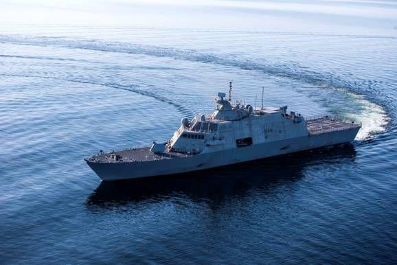 The U.S.S. Sioux City will be commissioned a Navy warship on Nov. 17.