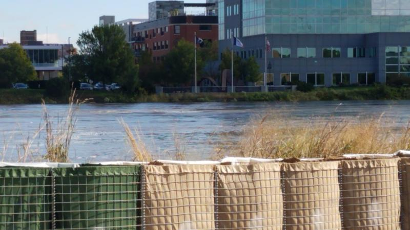 Cedar Rapids spent approximately $600,000 on temporary flood protection measures during two flood scares in September.