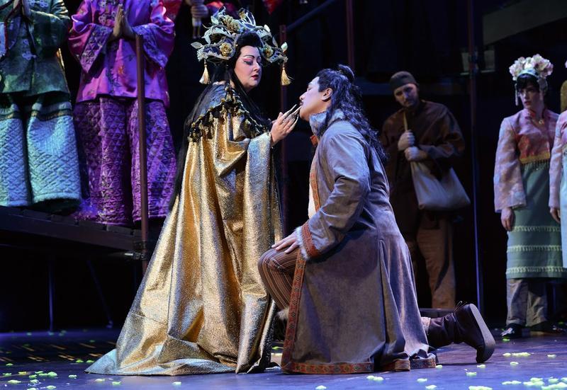 Princess Turandot and Calaf