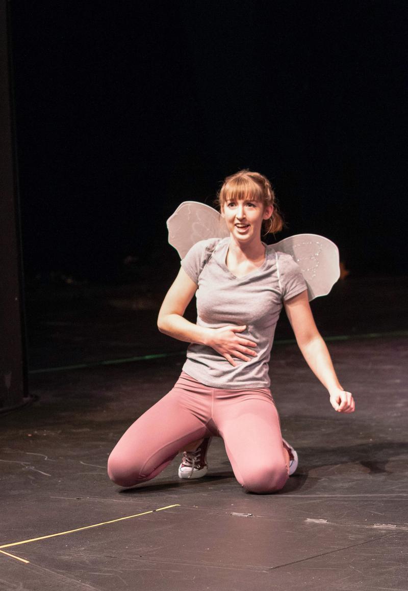 Bridget Ann Johnston as Cupid