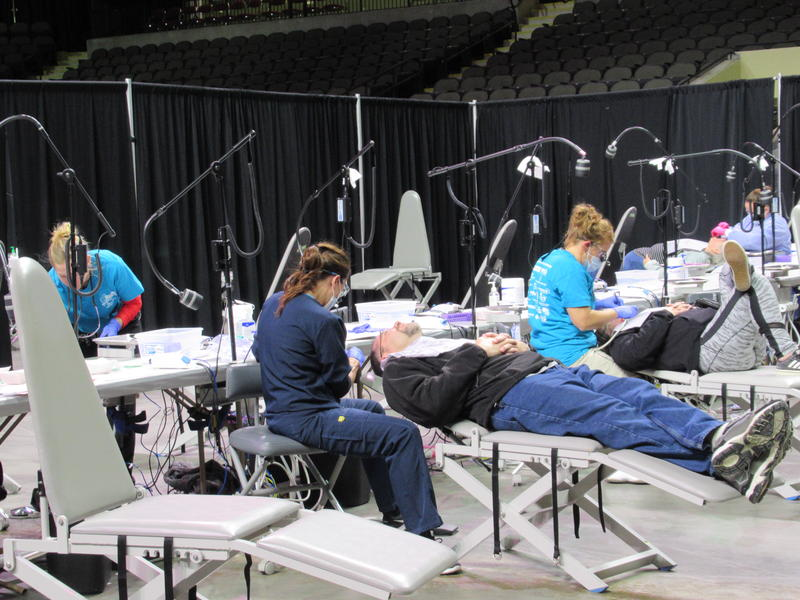 The Iowa Mission of Mercy has served about 14,000 patients, who have received more than $9 million worth of dental care, over its 11 years.
