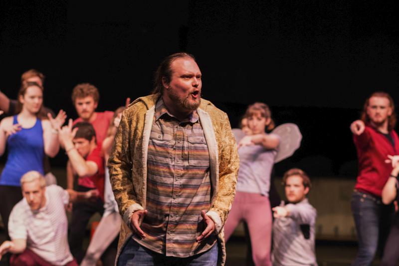 Ian Butler as Orpheus