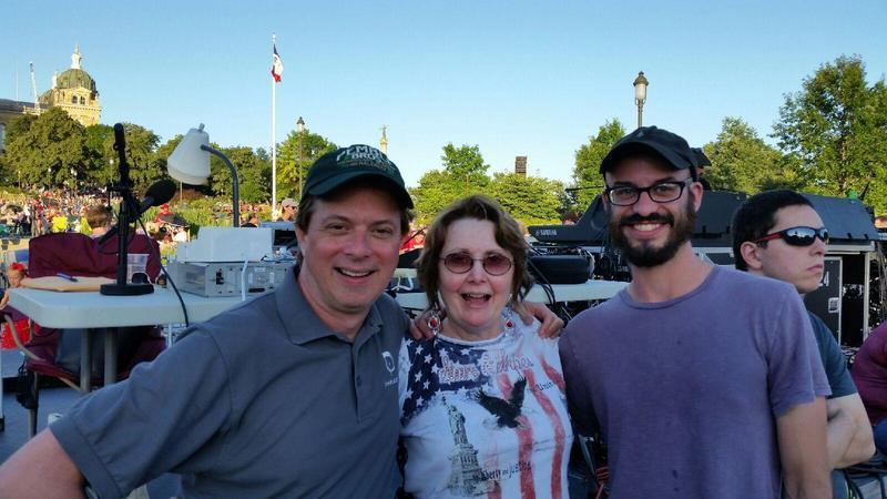 John Pemble, Jacqueline Halbloom, and Sean McClain