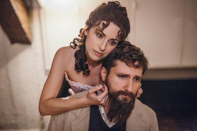 Angela Billman as Dot and Rob Merritt as George