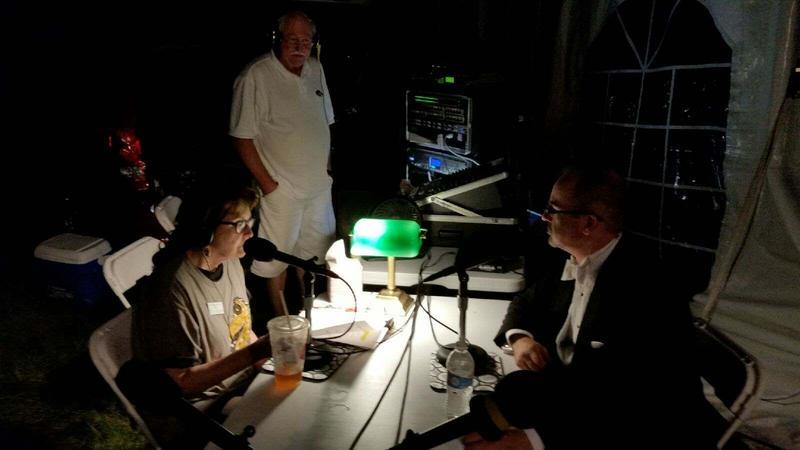 Orchestra Iowa's Tim Hankewich, IPR's Jacqueline Halbloom, and IPR's Jim Davies