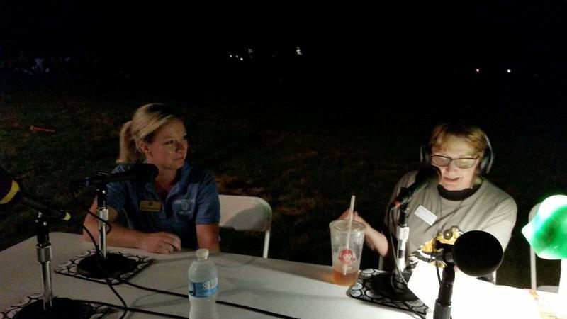 Brucemore's Director of Community Engagement, Tara Richards and IPR's Jacqueline Halbloom