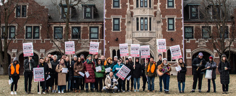 A union of student workers at Grinnell College voted not to authorize a strike, after members failed to get the necessary two-thirds vote.