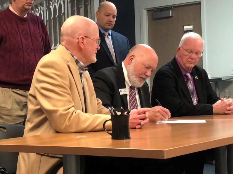 Officials in several Johnson County communities are signing on to a plan to communicate and collaborate across the region in order to grow and retain businesses.