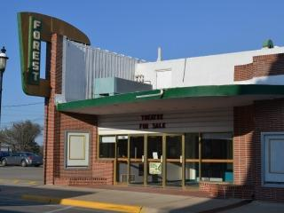 The theater in Forest City is one small town cinema that closed due to digital conversion costs.