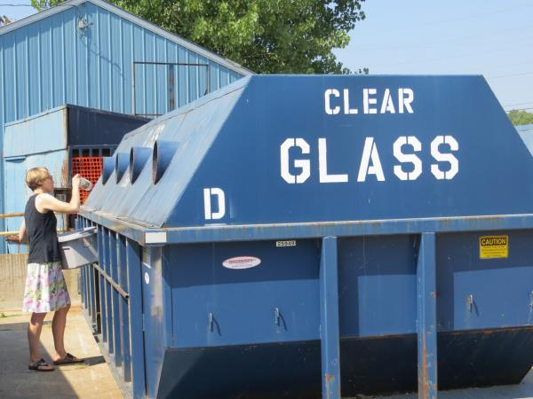 The cost of hauling glass to a recycling center often exceeds the value of the material, prompting communities including Sioux City to consider stopping collection.
