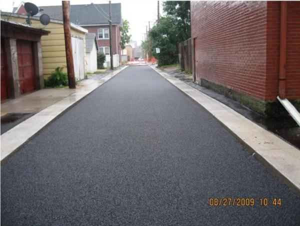 The City of Dubuque hopes to reconstruct up to 250 alleyways in the next 20 years, using permeable paving methods.