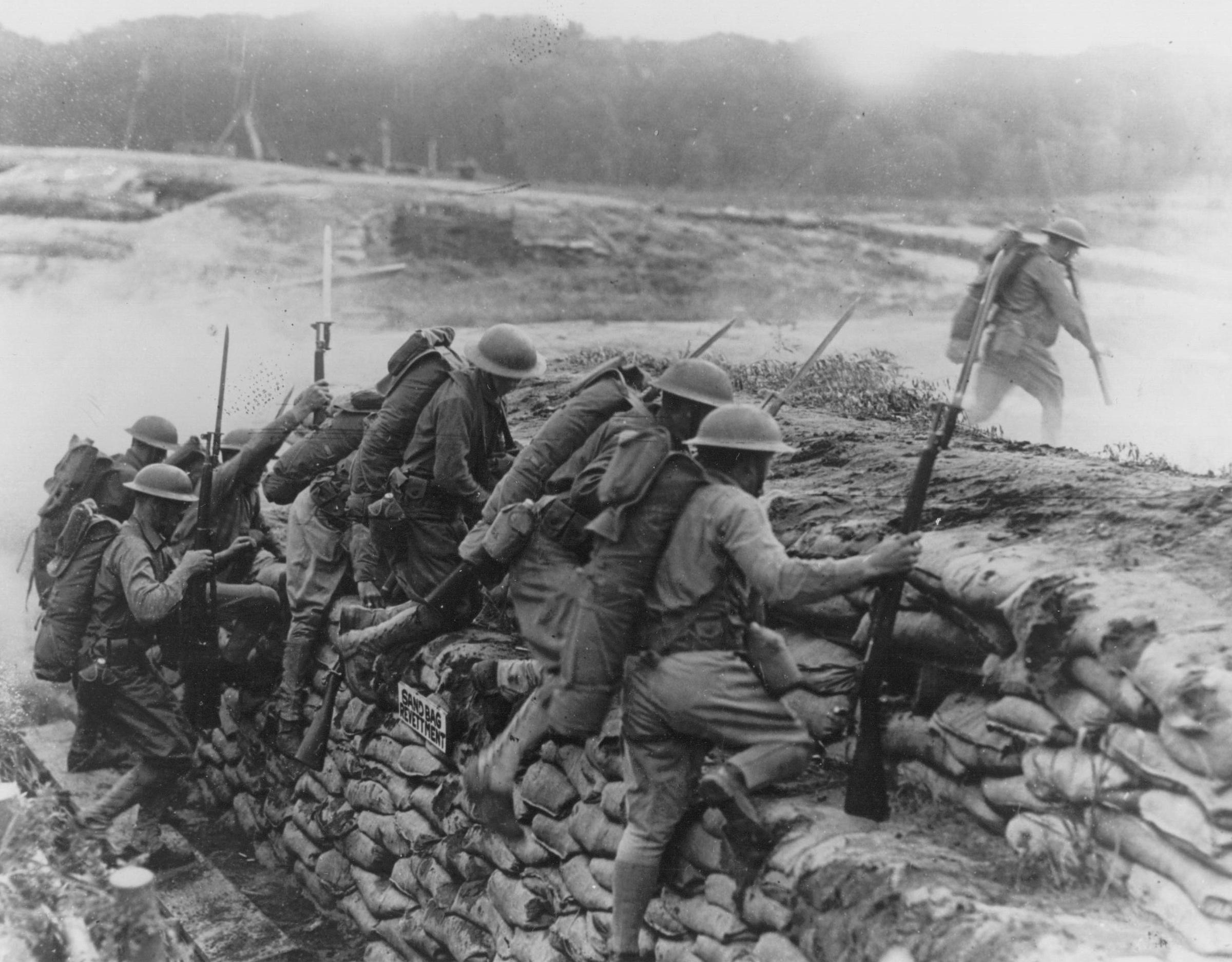 WWI Exhibit In The Trenches   Iowa Public Radio