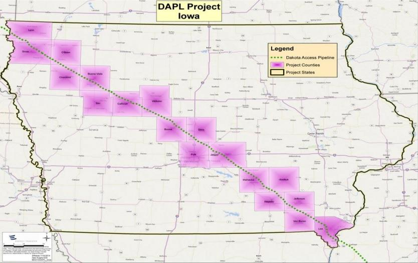 Dakota Access Can Start Pipeline Construction | Iowa Public Radio