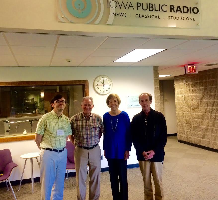 Inside Look: The 2016 MIPC Judges   Iowa Public Radio