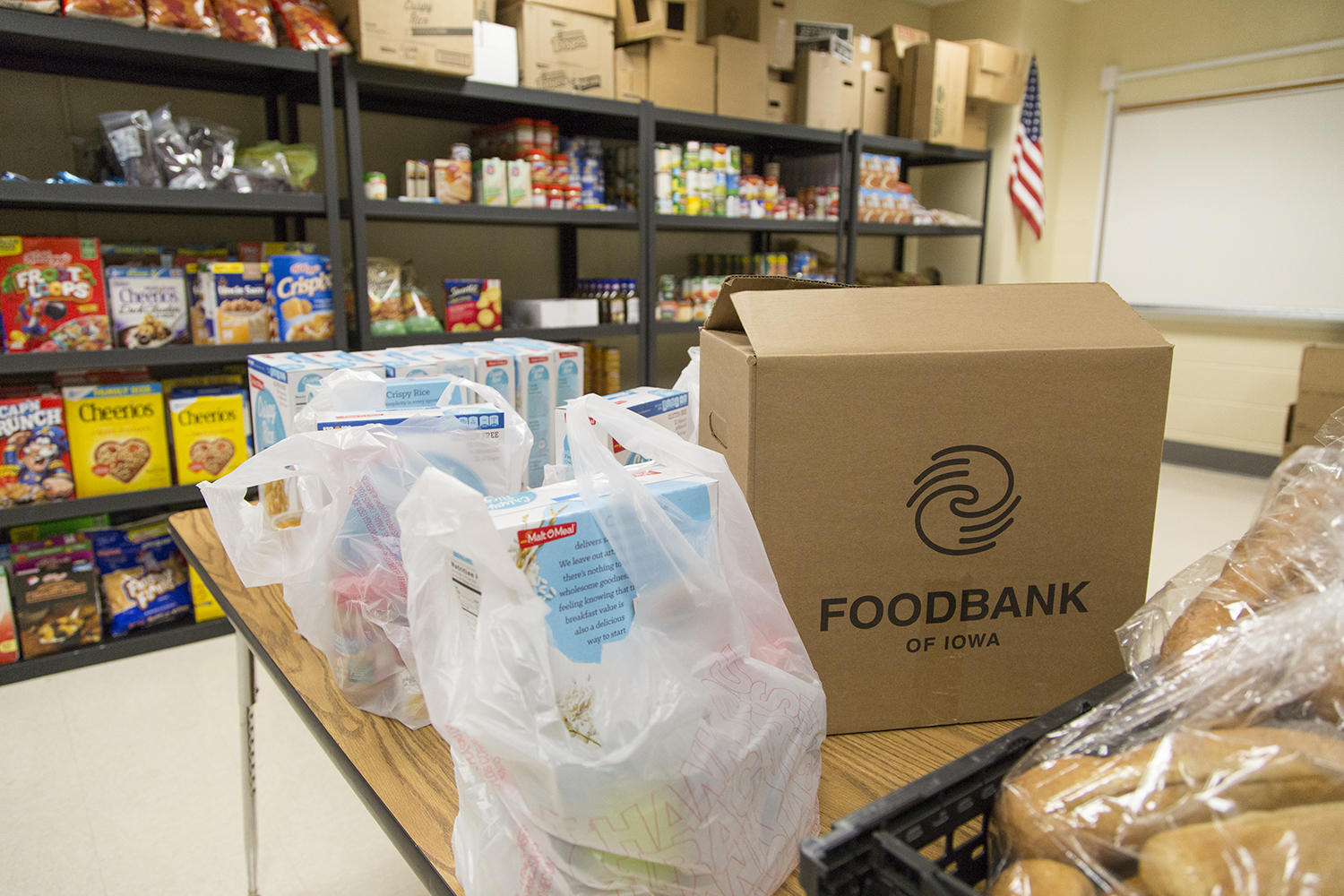 Food Bank Of Iowa Holds Drive To Stock Up For The Winter