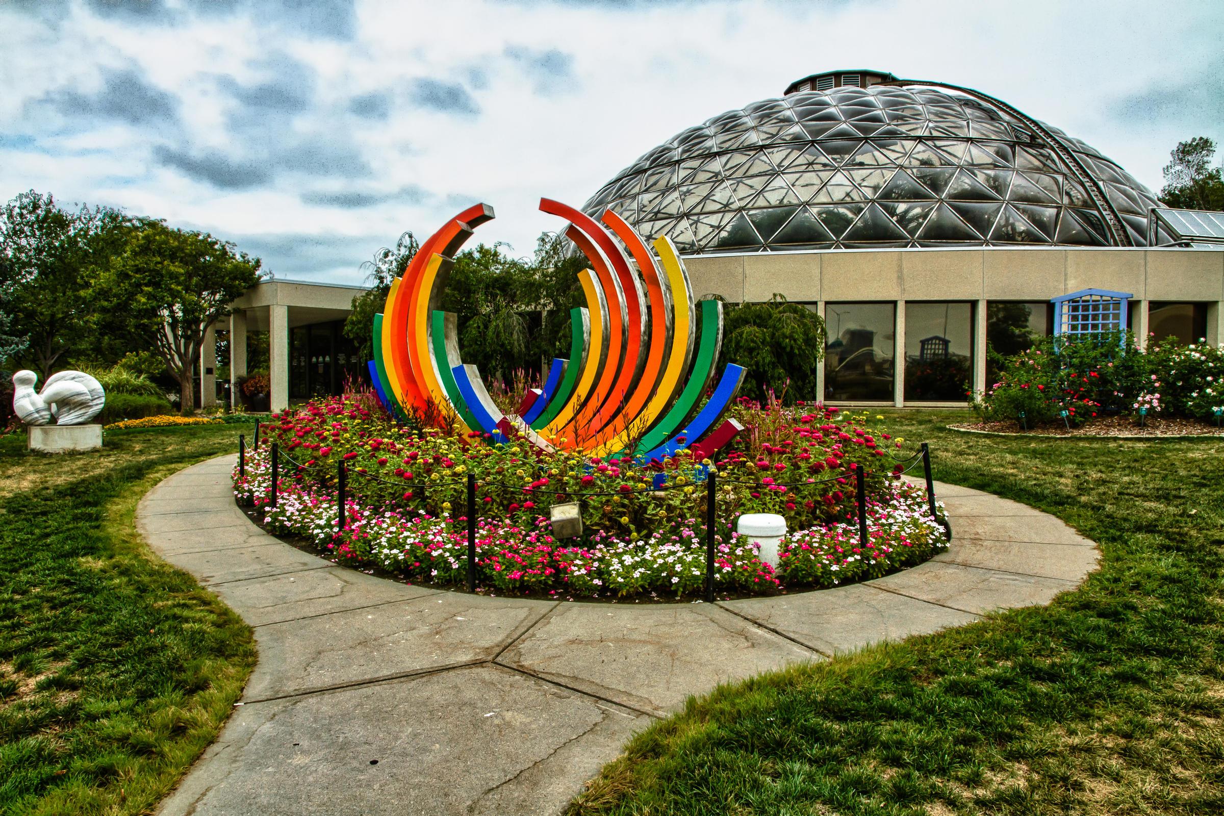 Superbe Botanical Garden Of Des Moines