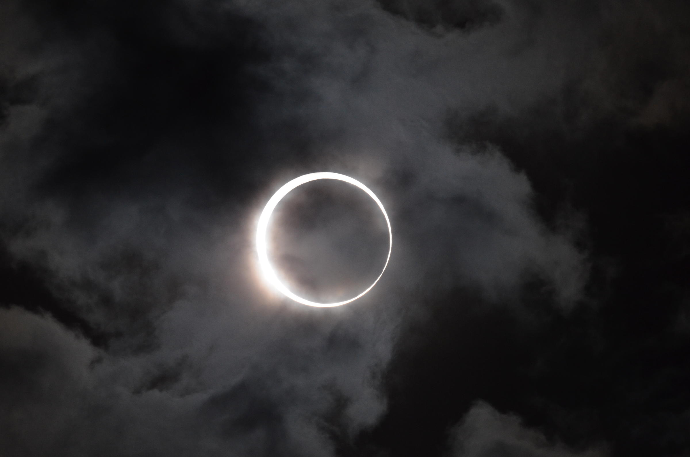 during a solar eclipse