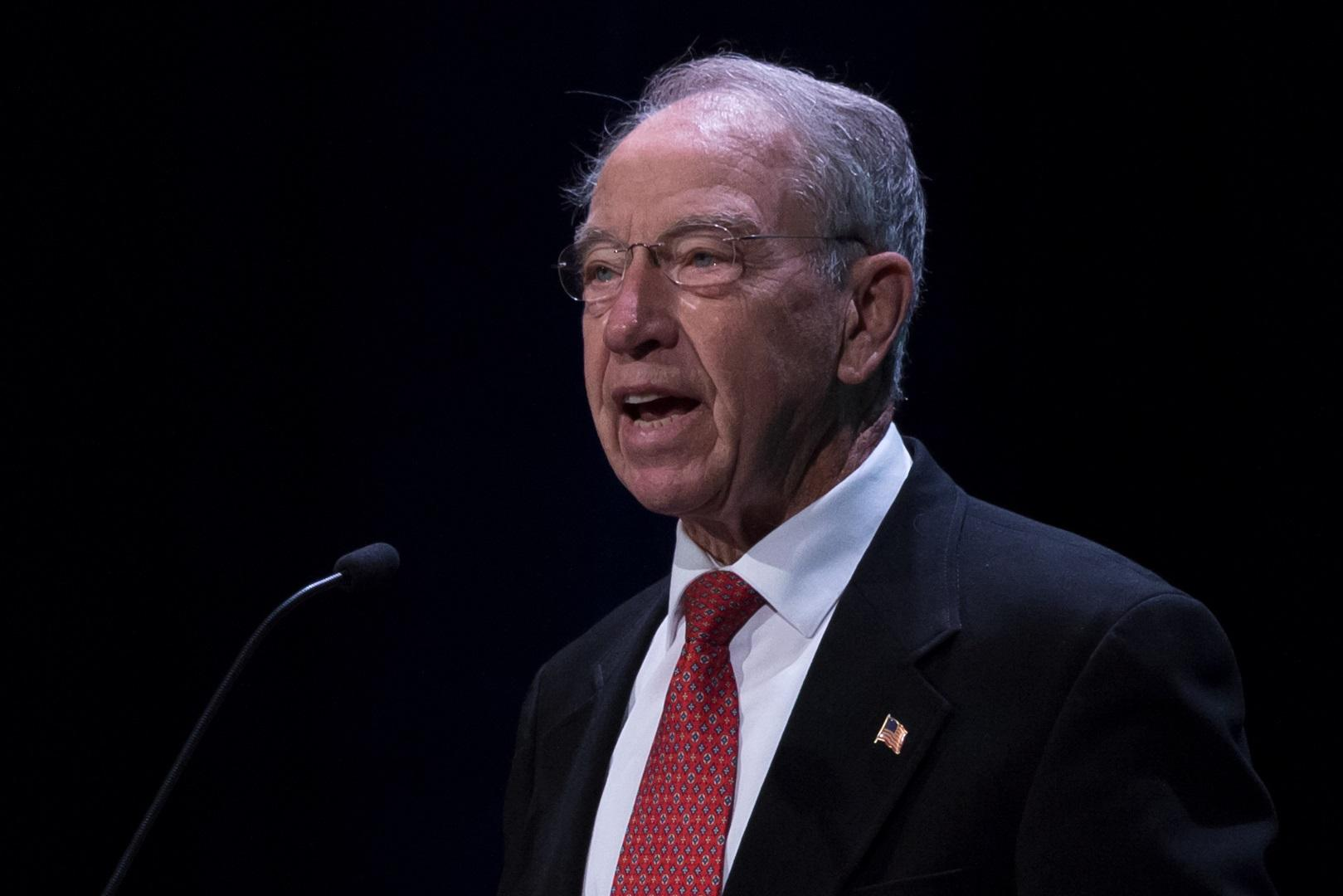 Grassley says he was 'dropped' from panel dealing with tax cut