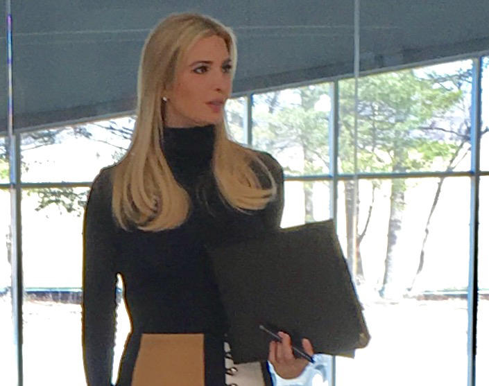 Ivanka Trump visiting Iowa today