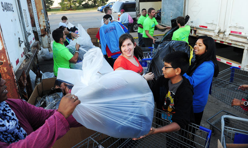 (Abilene Reporter-News file photo) Love and Care Ministries Mission Thanksgiving in November of 2012.