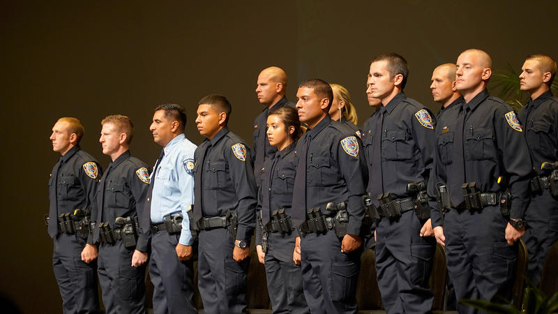 (Photo by Rick Tomlin/APD) Abilene Police Department's 54th graduating class.