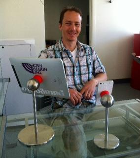 Tamas Kovacs founded iOmounts in Basalt. They design and sell innovative stands for mobile devices.