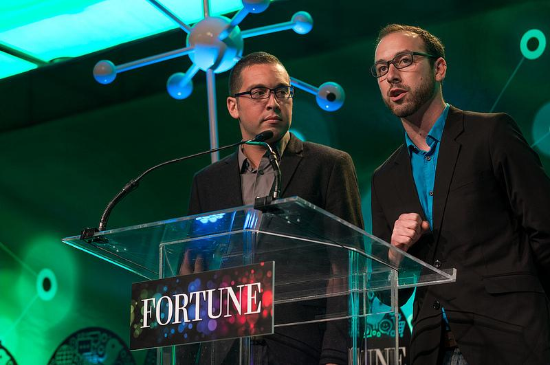 Startup Idol Winners Daniel (left) and Jonathan (right) Yaffe of Any Road