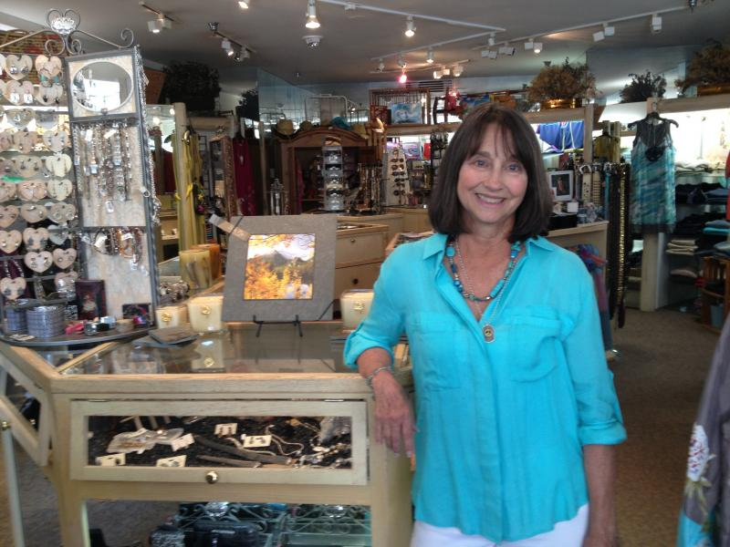 Sherry Flack, owner of Local Color and Local Rebels, two stores in Snowmass Village.