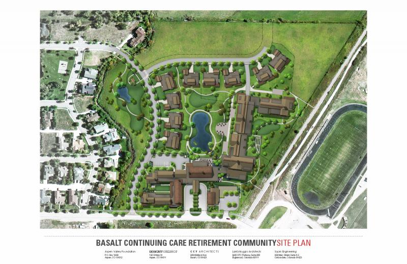 The community would include several buildings like apartments and cottages, spread over an 18-acre plot.