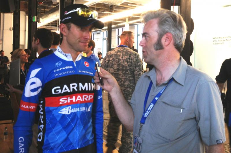 2012 Pro Challenge winner Christian Vande Velde, left, is retiring this year.