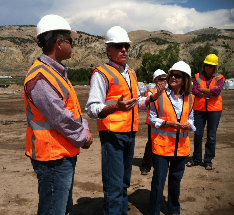 In early August, U.S. Senator Mark Udall and State Senator Gail Schwartz toured the facility. Both are supporters of the project.
