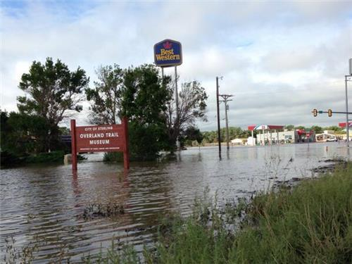 Sterling swamped. Residents along South Platte evacuated.
