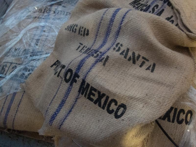 The beans come from all over the world. Rose's stockroom includes beans from Ethiopia, Indonesia and Honduras.