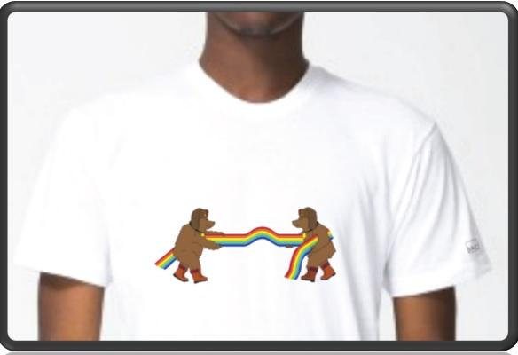 A small furniture design store in Carbondale designed a t-shirt protesting Russia's new anti-gay laws. The store's owners hope local Olympic athletes purchase them.