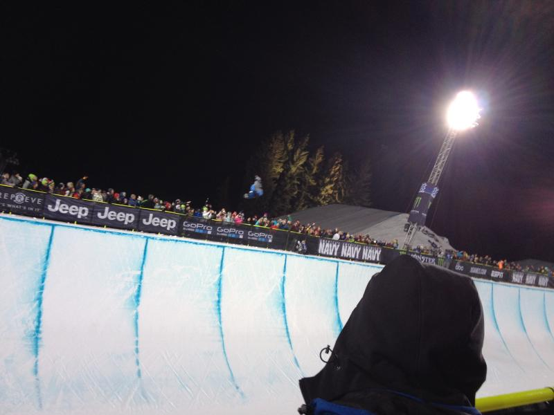 Men's SuperPipe finals.