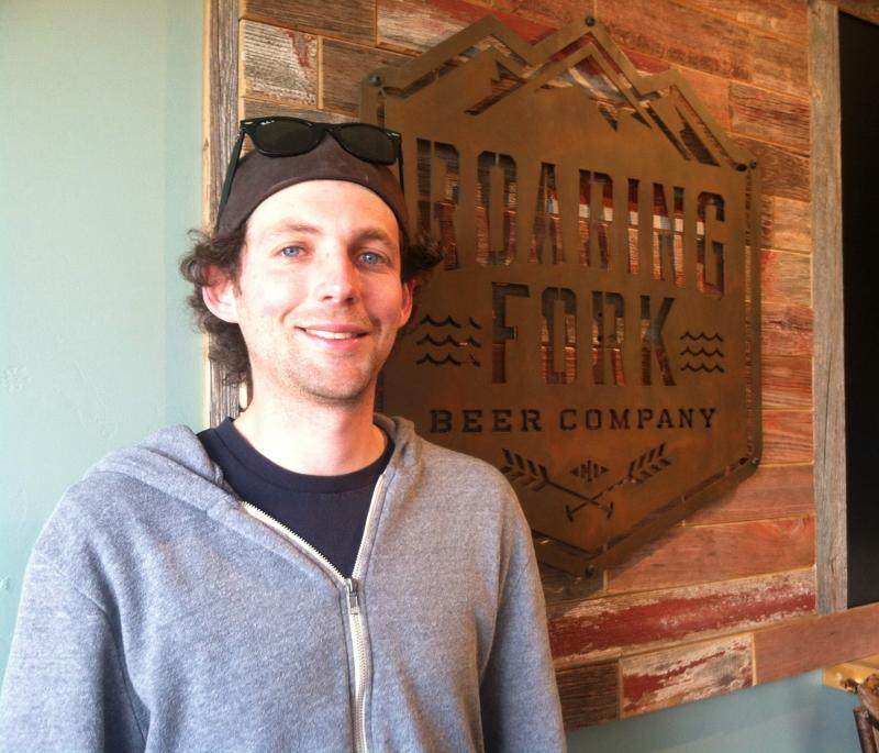Chase Engel is founder and head brewer at Roaring Fork Beer Company. The Carbondale business opens this weekend.